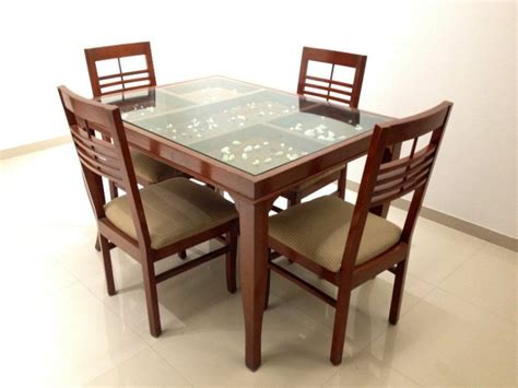 Wood And Glass Dining Tables Best Glass And Wood Dining Tables Glass Top Dining Tables With Wood Base