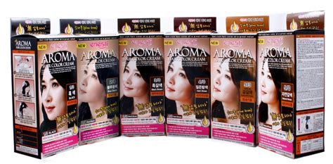 2 korean hair dye products to consider hair dye tips dvagoda com aroma hair color cream from enesti global inc b2b