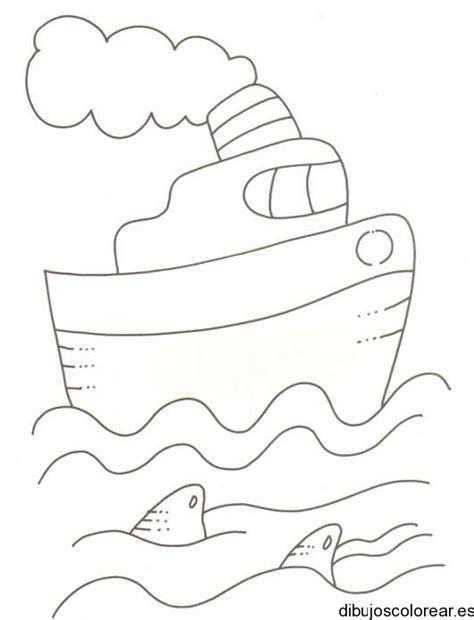dibujo barco con olas imagenes de olas para colorear imagui