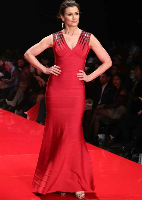 bridget moynahan news pictures and videos e online get the look go red 2017 bridget moynahan s herve leger