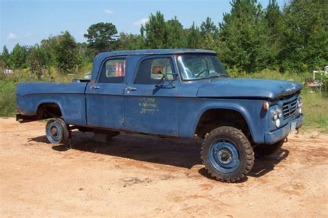 dodge w200 power wagon dodge power wagons pinterest 1964 dodge w200 power wagon 4x4 crew cab military pickup 4