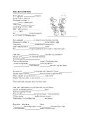 Roll Back The Rug Line by Worksheets Using Songs Worksheets Page 720