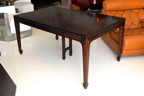 Furniture Risers For Dining Room Table Extendable Walnut Parquetry Dining Table Baker Far East Collection At 1stdibs