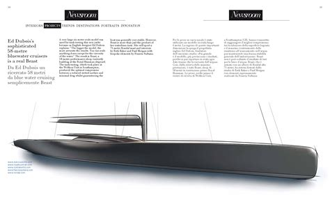 yacht design magazine italy a peek inside the first issue of top yacht design top