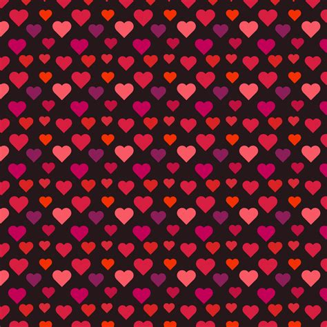 seamless pattern with hearts hearts seamless pattern photo stock libre public domain