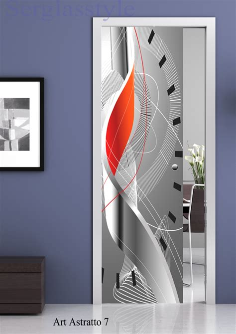 porte da interni con vetro vetrate artistiche porte vetro cristallo temperato