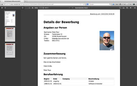 Bewerbung Email Pdf Zusammenfugen Cross Solution Open Source Beratung 187 Archive 187 Screenshots Vom Open Source