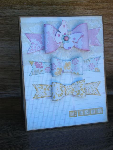 carding tutorial site paper bow card check out this site for a easy tutorial