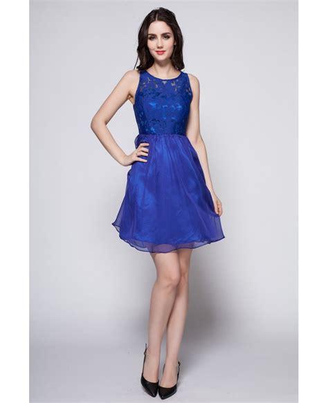 Summer Dresses by 2016 Summer Blue Lace Top Dress Dk259 52 7