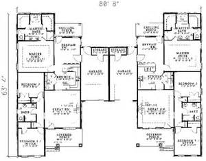 2 Family House Plans 25 Best Ideas About Duplex House Plans On Pinterest