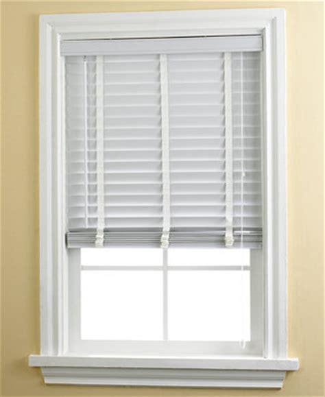 Basic Window Blinds Home Basics 2 Quot Faux Wood Blinds Window Treatments For