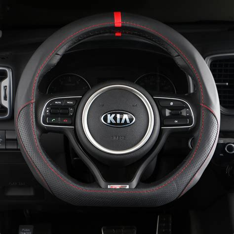 for universal car racing steering wheel pu leather sport