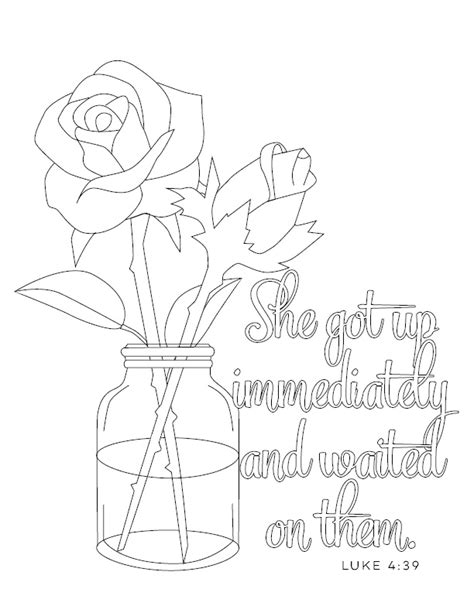 a servant s heart catholic mom s coloring page do small