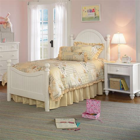 childrens white bedroom furniture sets hillsdale westfield youth 3 bedroom set in white