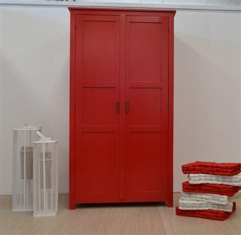 armadio rosso armadio etnico rosso armadi in legno colorati