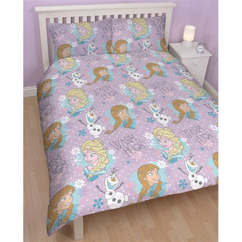 frozen bedding disney frozen duvet quilt covers bedding anna elsa olaf ebay