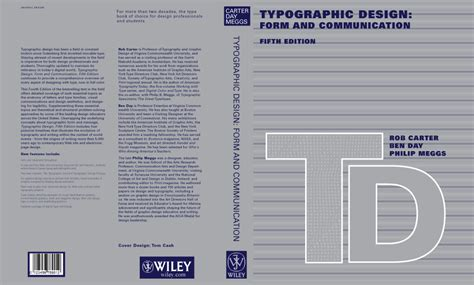 typographic design form and communication books typographic design form and communication 02 by