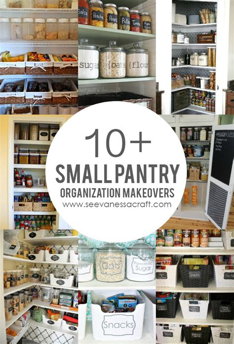 Pantry Organization Ideas Small Pantry by Organization 10 Small Pantry Makeovers See Craft