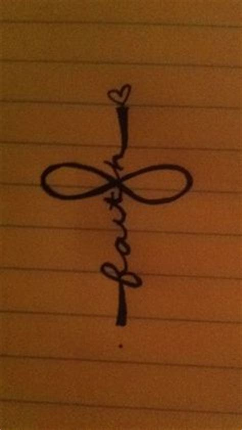 my infinity faith cross tattoo i m diggin this cross tattoos for women feminine cross tattoos for women