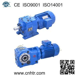 motor reduction gearbox china helical bevel electric motor reduction gearbox