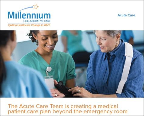 Millennium Home Care by Join Our Team Acute Care Manager Millennium