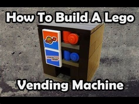lego atm tutorial lego vending machine and how to build on pinterest