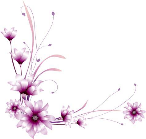 Brief Word Seitenränder Blumen Free Images At Clker Vector Clip Royalty Free Domain