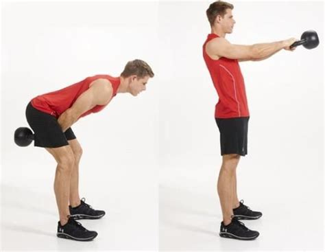 kettlebell swing reps 1000 ideas about hip thrust workout on pinterest tapout