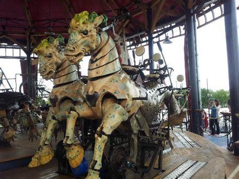 les machines les chevaux du carrousel picture of les machines de l