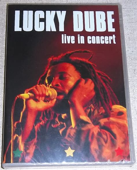 lucky south lucky dube live in concert dvd south africa cat gmvdvd 018 subterania