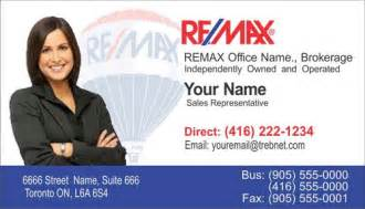 remax business card business cards remax