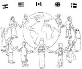 Free Color Pages For Christmas Around The World Christmas Free Around The World Coloring Pages
