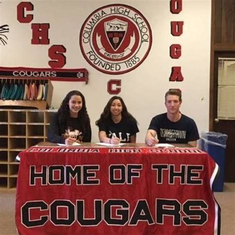 Letter Commitment College Sports Three Columbia High School Students Sign Commitment Letters For Athletic Scholarships Soma Nj