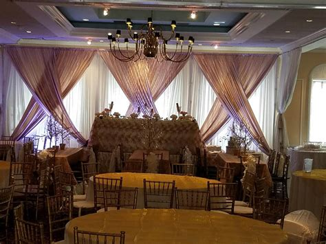 pipe and drape rental miami backdrop designs for weddings and social events miami
