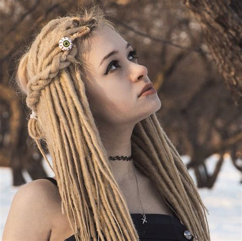 blonde dreadlocks extensions custom blonde synthetic dreads dreadlocks double or single