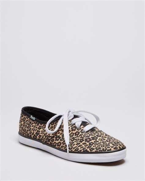 Kets Shoes Iii lyst keds sneakers chion leopard in brown