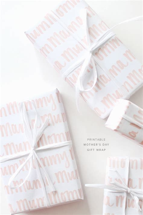 printable wrapping paper mother s day printable mothers day gift wrap almost makes perfect