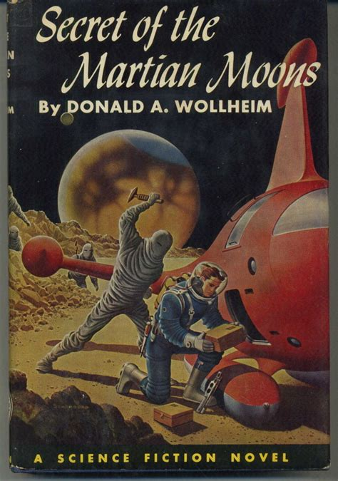 when the scientific secrets of timing books the secret of the martian moons a science fiction novel