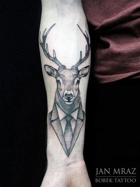tattoo arm deer deer tattoos askideas com