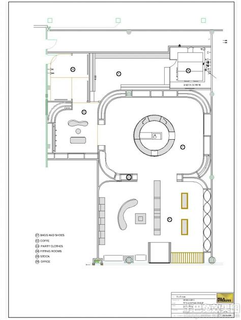 Gift Shop Floor Plan by