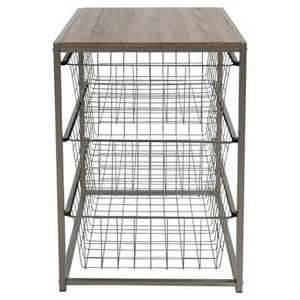 3 drawer closet organizer grey birch threshold target
