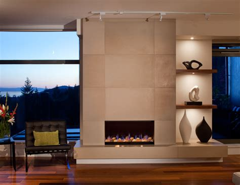fireplace tiles modern concrete fireplace tiles contemporary calgary by