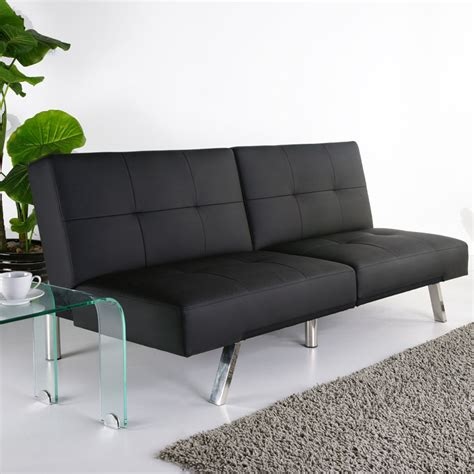 black faux leather couch royale black faux leather sofa bed sofasworld
