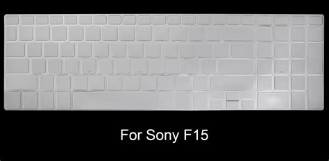 Keyboard Protector Sony Vaio 15 Fit 15 F15 Warna T2909 1 hrh ultrathin clear soft tpu keyboard protector cover skin for sony vaio 15 5 quot all fit 15 fit