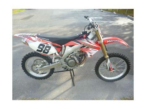 2004 honda crf450r 2004 honda crf450r for sale on 2040motos