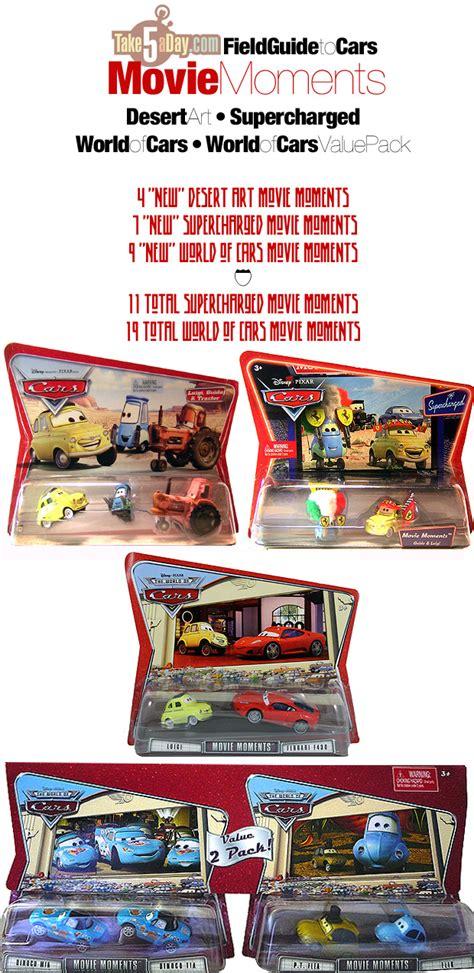 Baju Single Pack Original Mattel mattel disney pixar diecast cars collectors field guide