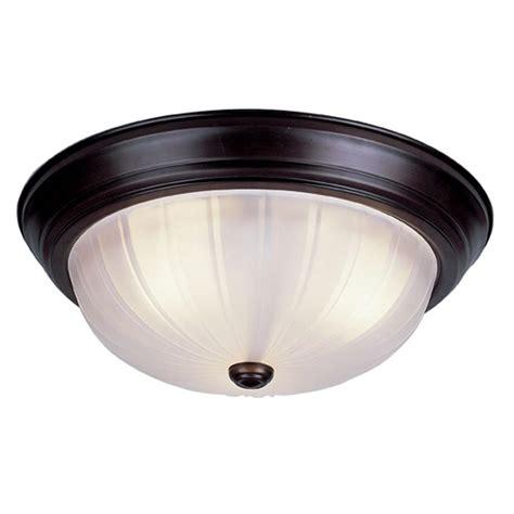 homeselects 3 light burnished bronze flushmount 6160 the