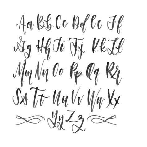 calligraphy font best 25 calligraphy alphabet ideas on