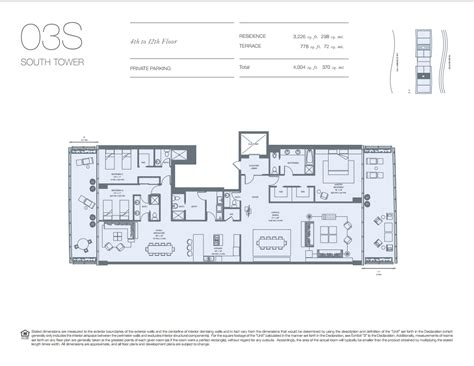 floor plan key oceana key biscayne condos for sale rent floor plans
