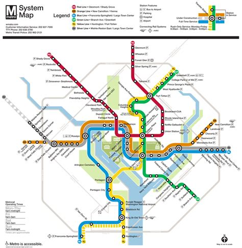 washington dc transit map pdf tips for the metro in washington dc